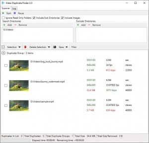 Video Duplicate Finder náhled pro download