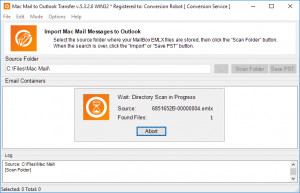 Mac Mail to Outlook Transfer náhled pro download