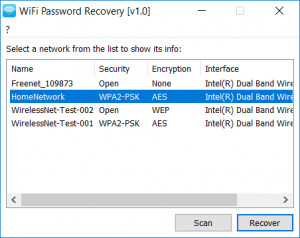 WiFi Password Recovery náhled pro download