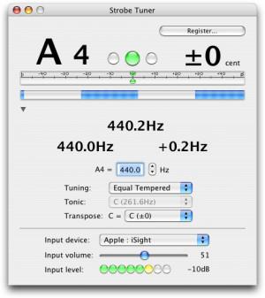 Strobe Tuner náhled pro download
