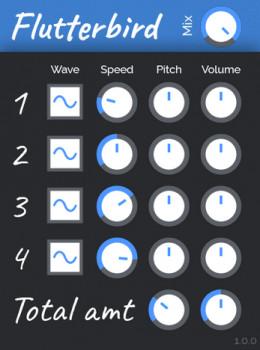 Flutterbird VST2 náhled pro download