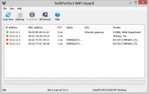 SoftPerfect WiFi Guard náhled pro download