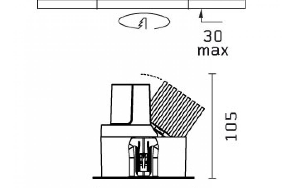 Flos Architectural Light Sniper Adjust Round For Power Led 03 06