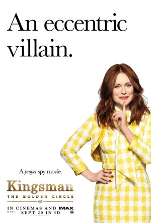 Kingsman Golden Circle karakterposters Poppy
