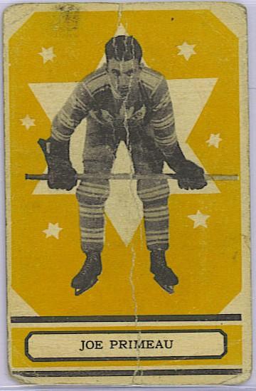 Joe Primeau - 1933-34 OPC