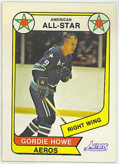 Gordie Howe AS - 1976-77 OPC WHA