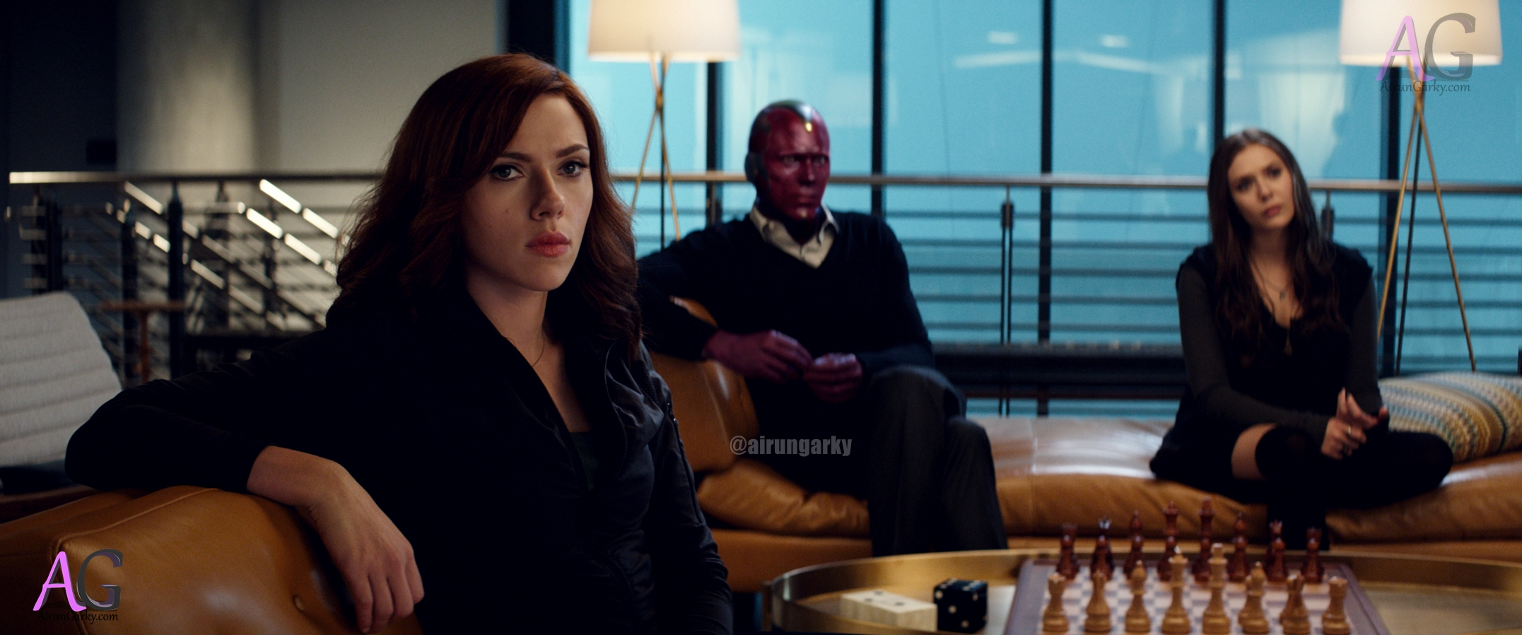 Image result for Captain America: Civil War - scarlet witch and black widow