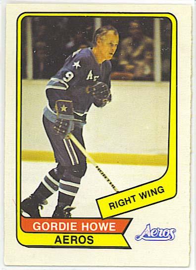 Gordie Howe - 1976-77 OPC WHA