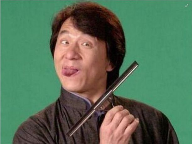 Here S To Jackie Chan For Starring In The Karate Kid Movie Even