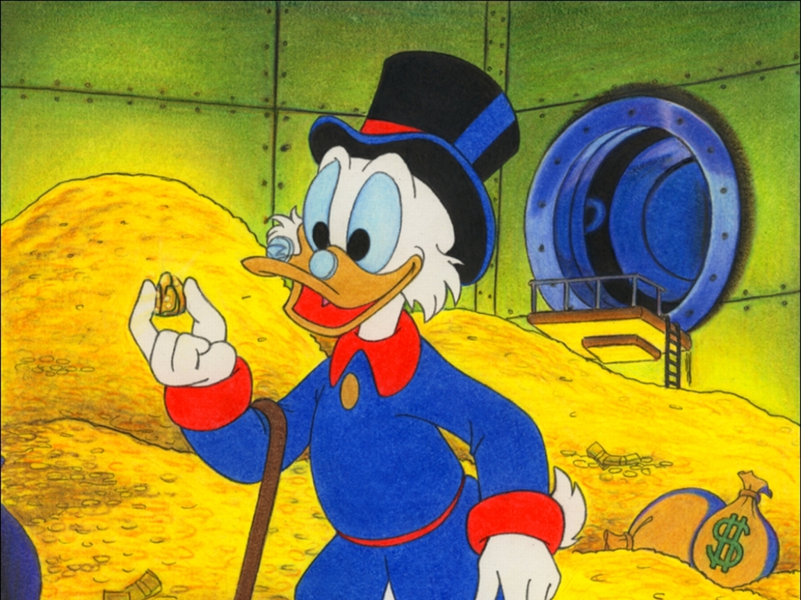 Dagobert Duck Tales Blank Template Imgflip