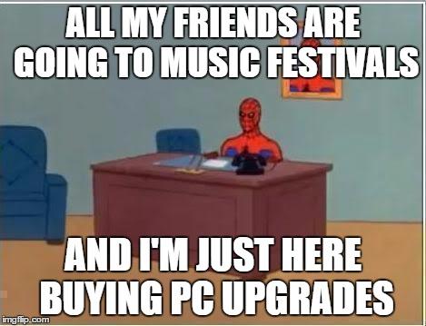 Spiderman Computer Desk Meme Imgflip