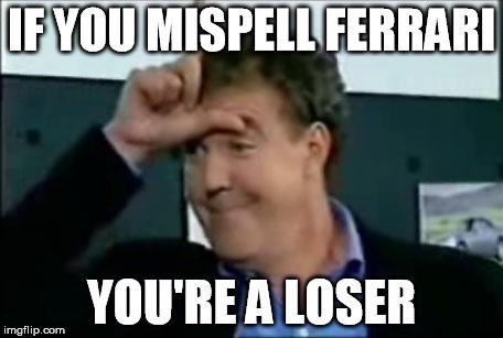 Jeremy Clarkson Loser Imgflip