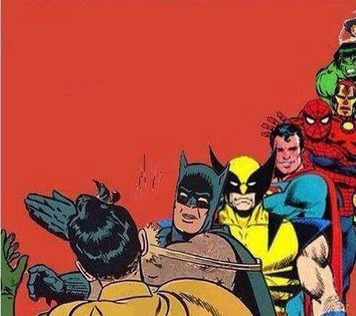 Batman Slaps Robin Meme 1 Imgflip