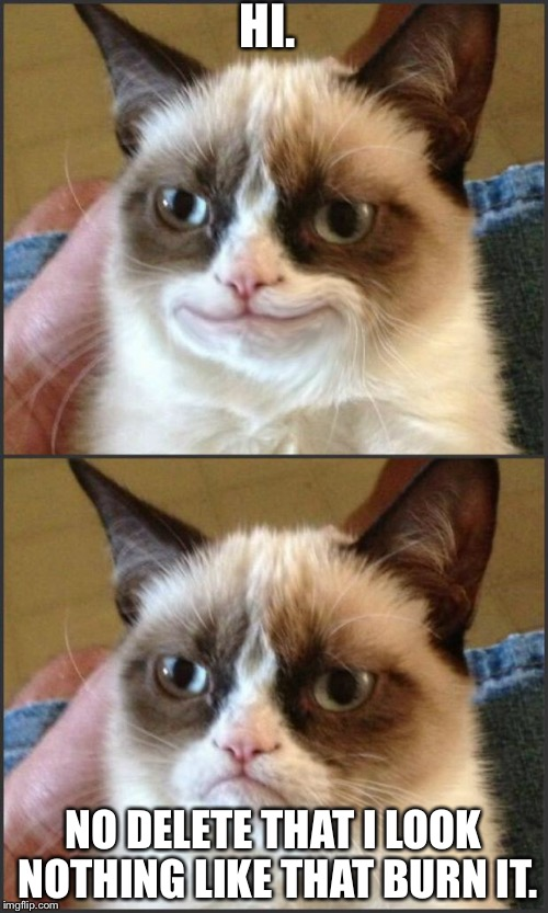 Happy Grumpy Cat Photoshop Meme Generator Imgflip