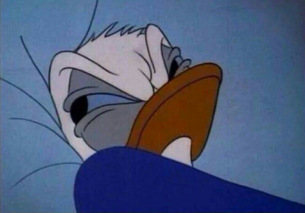 Daffy Duck Png Donald Duck Meme Png Transparent Cartoon Free