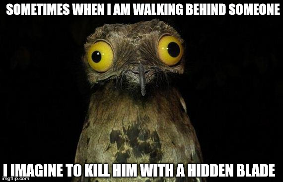 Weird Stuff I Do Potoo Meme Imgflip