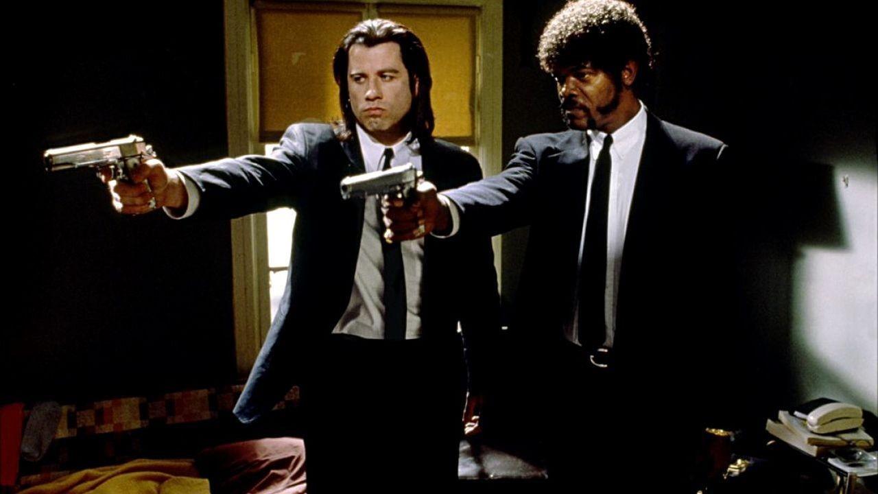 Pulp Fiction Samuel L Jackson John Travolta Meme Generator Imgflip