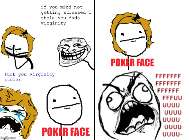Rage Comic Internet Meme Trollface Know Your Meme Face Png