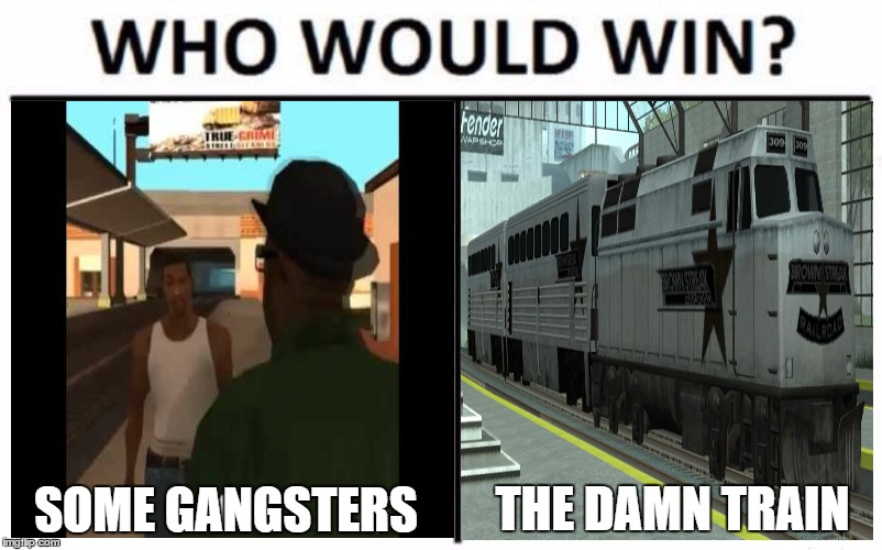 Mrw When All You Had To Do Was Catch The Damn Train Cj Imgur