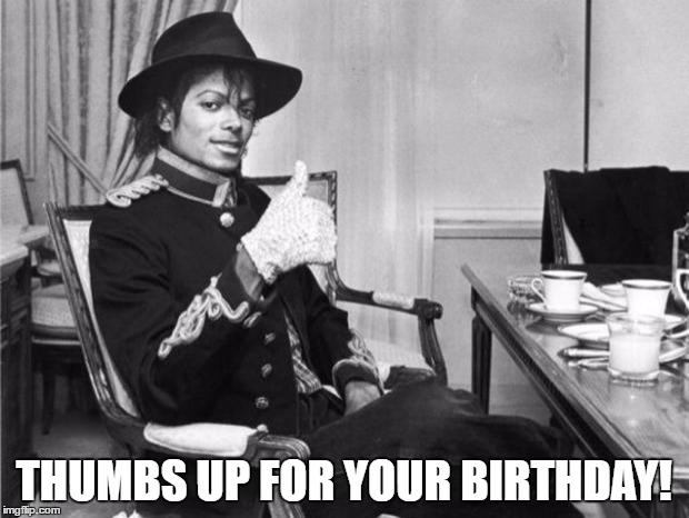 Michael Jackson Happy Birthday Meme