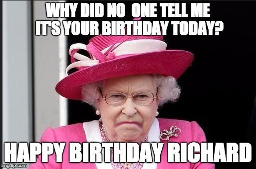 The Queen Is Not Happy Imgflip