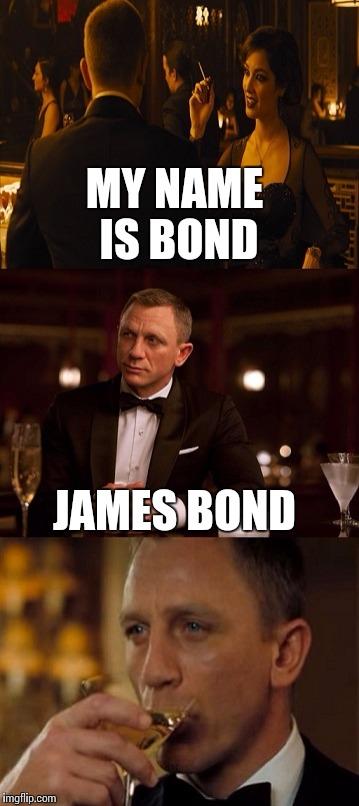 James Bond Gpa Imgflip