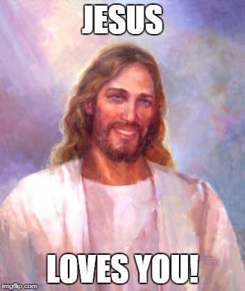 Smiling Jesus Meme Imgflip