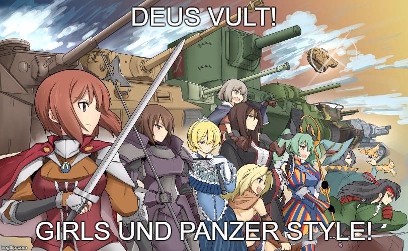 Girls Und Panzer Memes Gifs Imgflip