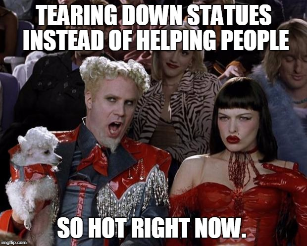 Mugatu So Hot Right Now Meme - Imgflip