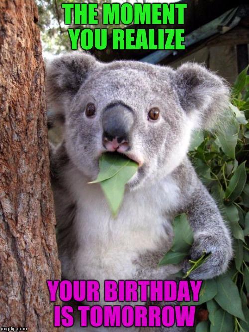 Wooooo Can T Wait Birthday Almost Here Imgflip
