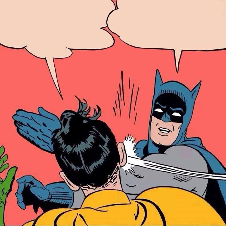 Batman Slaps Robin Real Life Lego Blank Template Imgflip