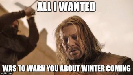 Image result for Ned Stark Meme