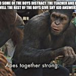 Apes Together Strong Meme Generator Imgflip