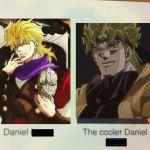 Daniel The Cooler Daniel The Coolest Daniel Okay But Yes Okay
