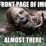 Walking Dead Zombie Meme Generator Imgflip