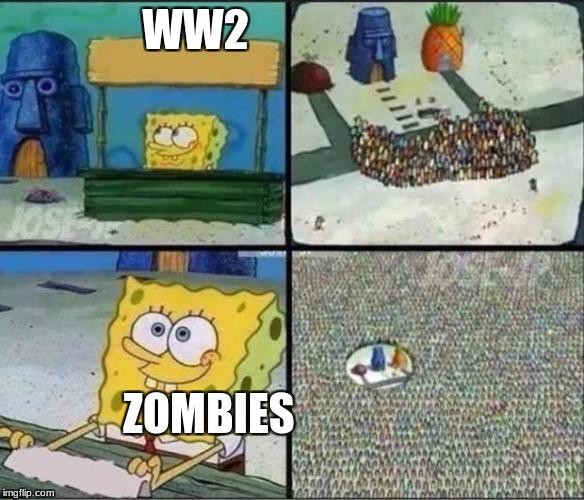 Spongebob Hype Stand Imgflip
