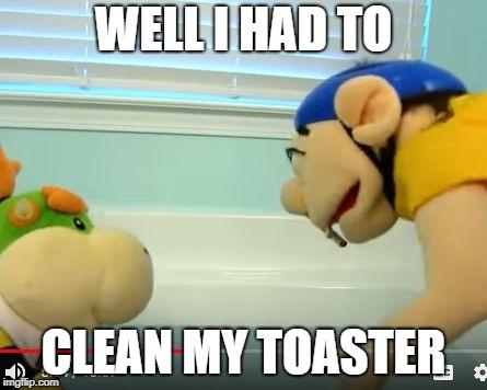 Jeffy Toaster Memes Gifs Imgflip