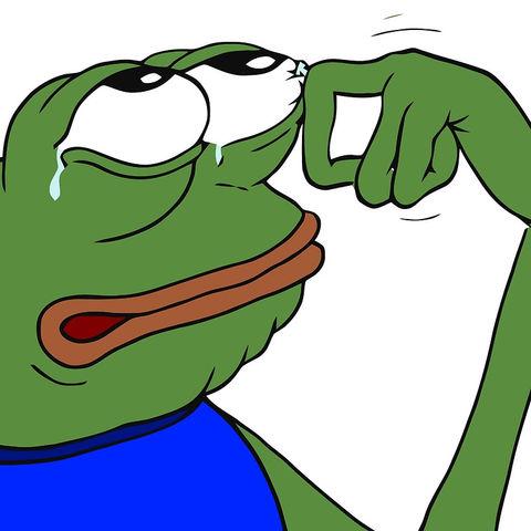 Pepe Happy Crying Sad Blank Template Imgflip