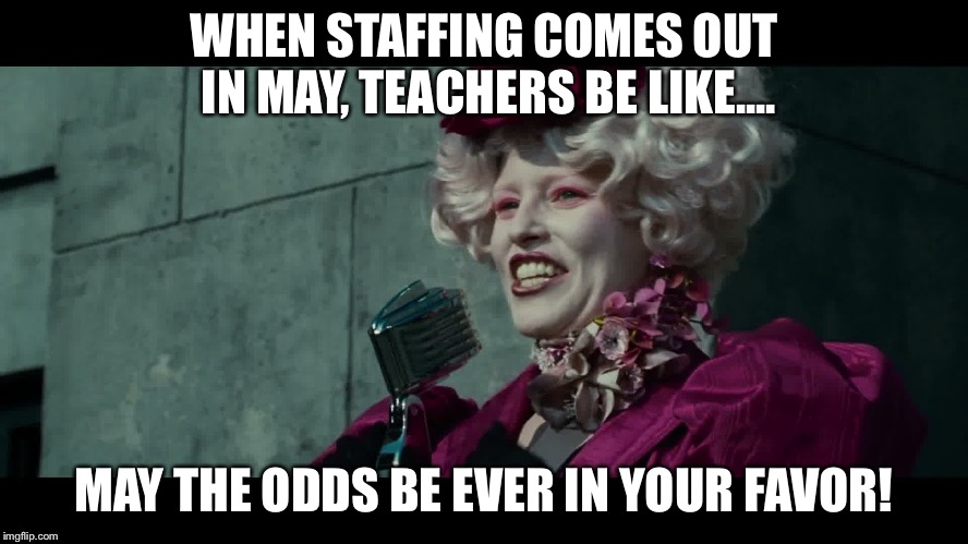 Happy Hunger Games And May The Odds Be Ever In Your Favor