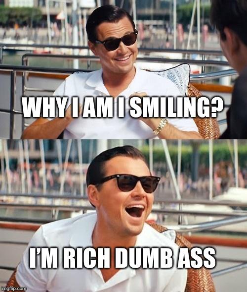 Leonardo Dicaprio Wolf Of Wall Street Meme Imgflip