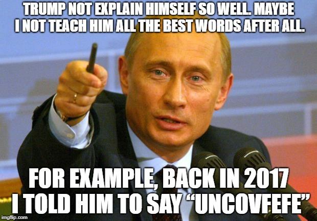 Good Guy Putin Meme - Imgflip