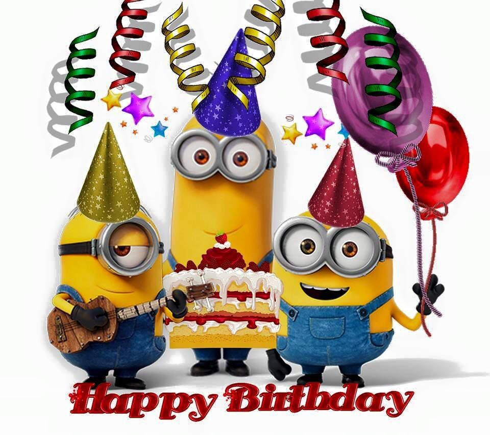 Minions Birthday Blank Template Imgflip
