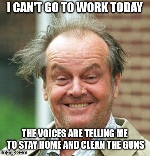 Jack Nicholson Crazy Hair Imgflip