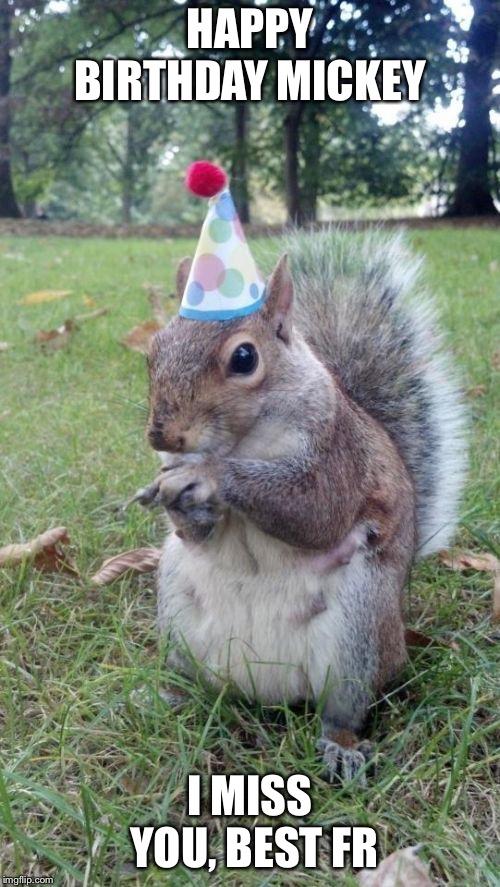 Super Birthday Squirrel Latest Memes Imgflip