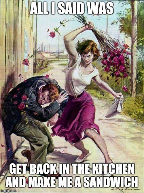 Cooking Is Sin In Feminism Imgflip