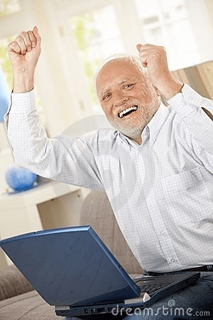 Old Guy Pc Win Blank Template Imgflip