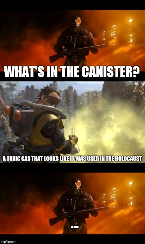 300 Iq Toxic Caustic Apex Legends Meme Youtube