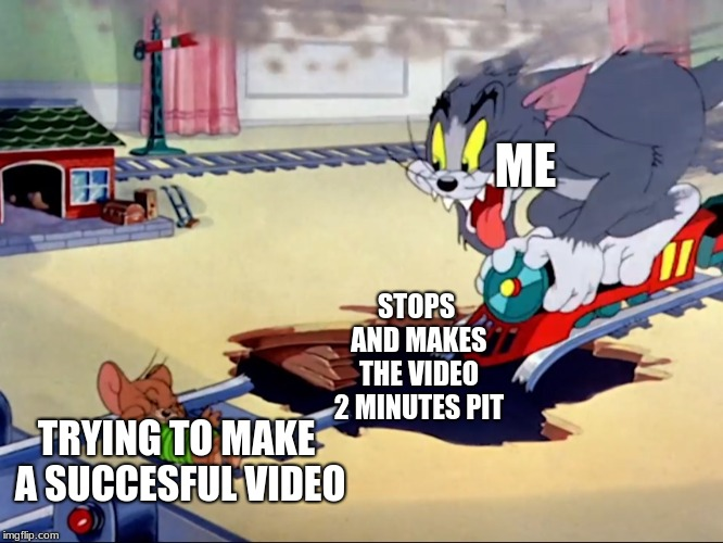 Tom And Jerry Train Imgflip