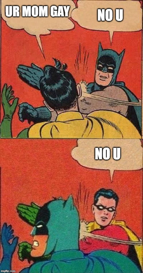 Batman Slapping Robin Meme Generator Imgflip Batman Slapping Robin