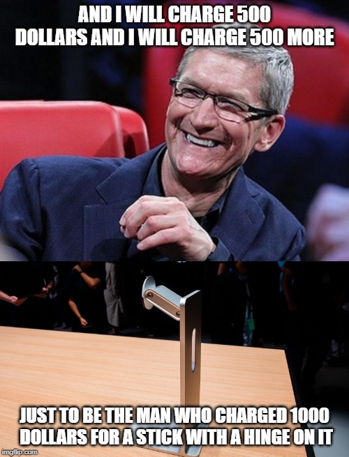 To People Who Are Surprised Apple Made Impractical Choices With